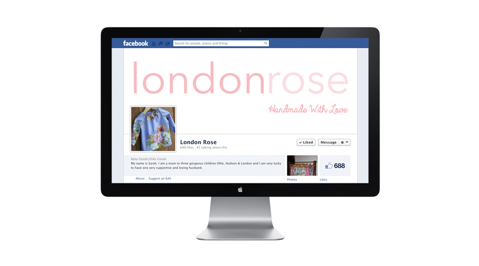 London Rose Facebook Mudgee Graphic Designer
