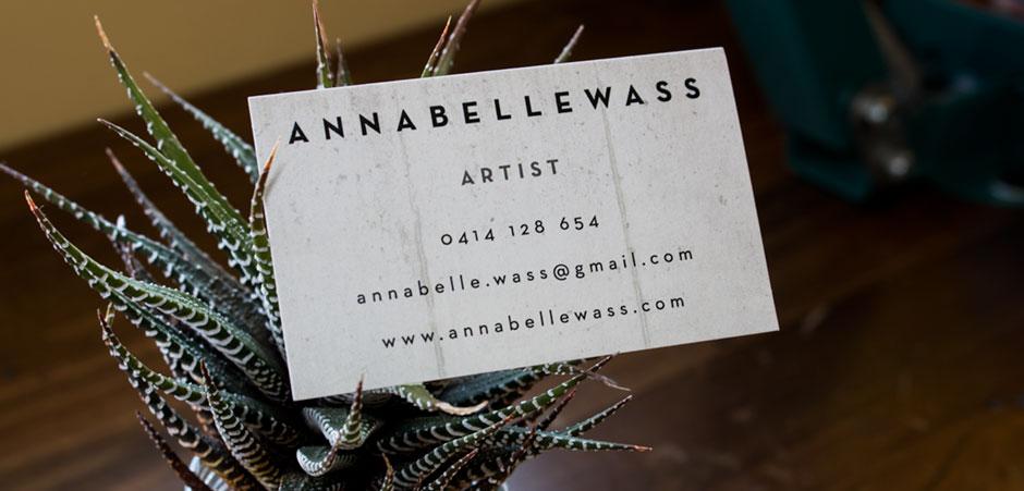 Annabelle Wass Business Card