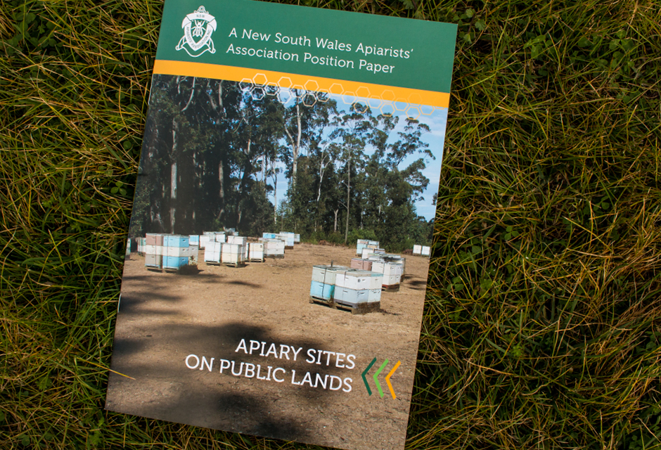 NSW Apiarists Front Cover