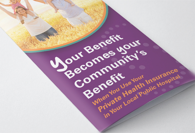 NSW Health Brochure Close-up