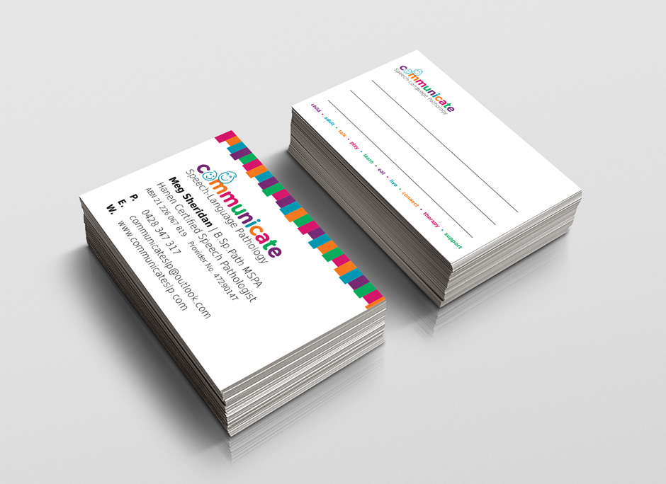 Communicate Business Cards