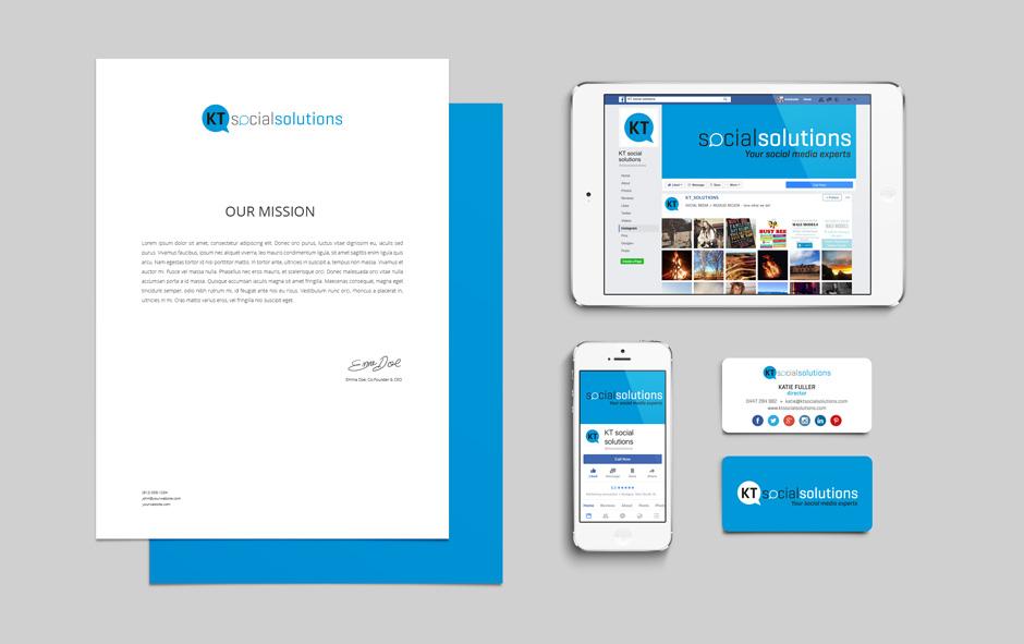 KT Social Solutions Branding