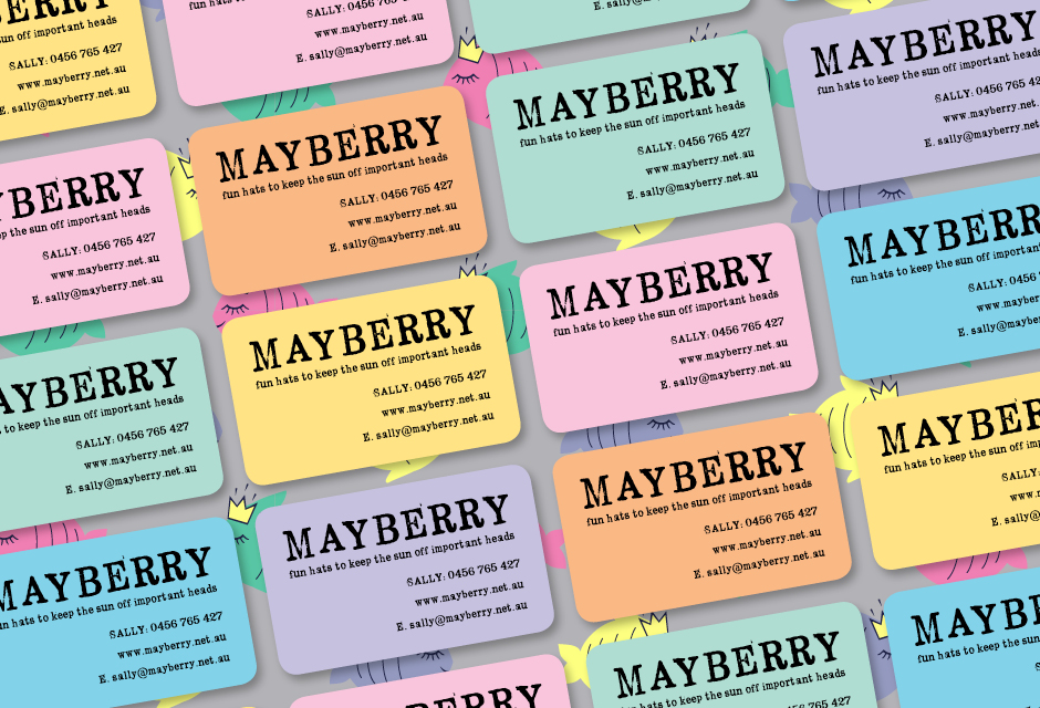 Mayberry Business Cards