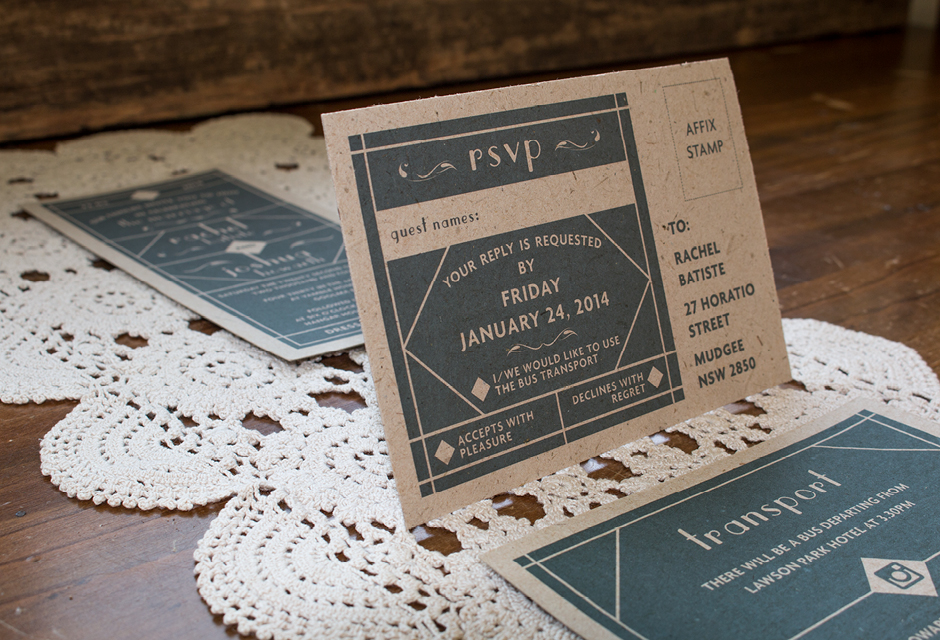 Rach Wedding Invitation - RSVP
