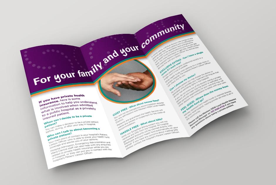 NSW Health Brochure Inside