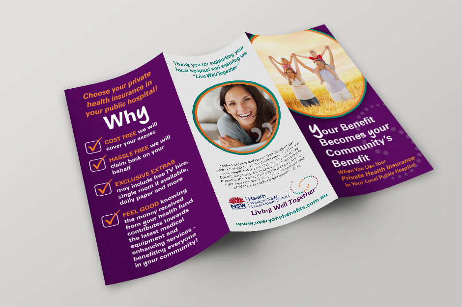 NSW Health Brochure Outside