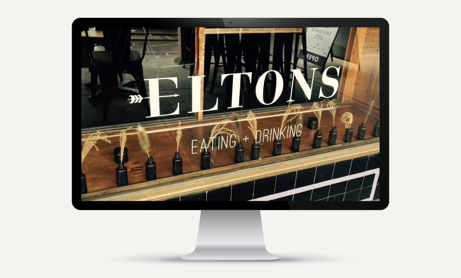 Eltons Website Homepage