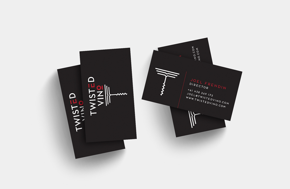 Twisted Vino Business Cards