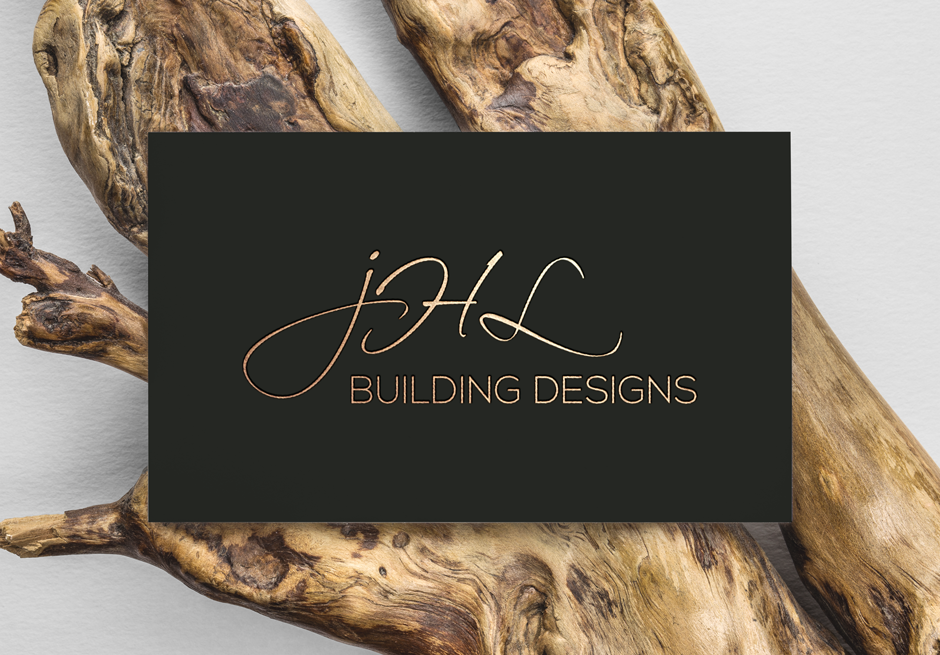 Mudgee Builder Modern Business Card Design Front