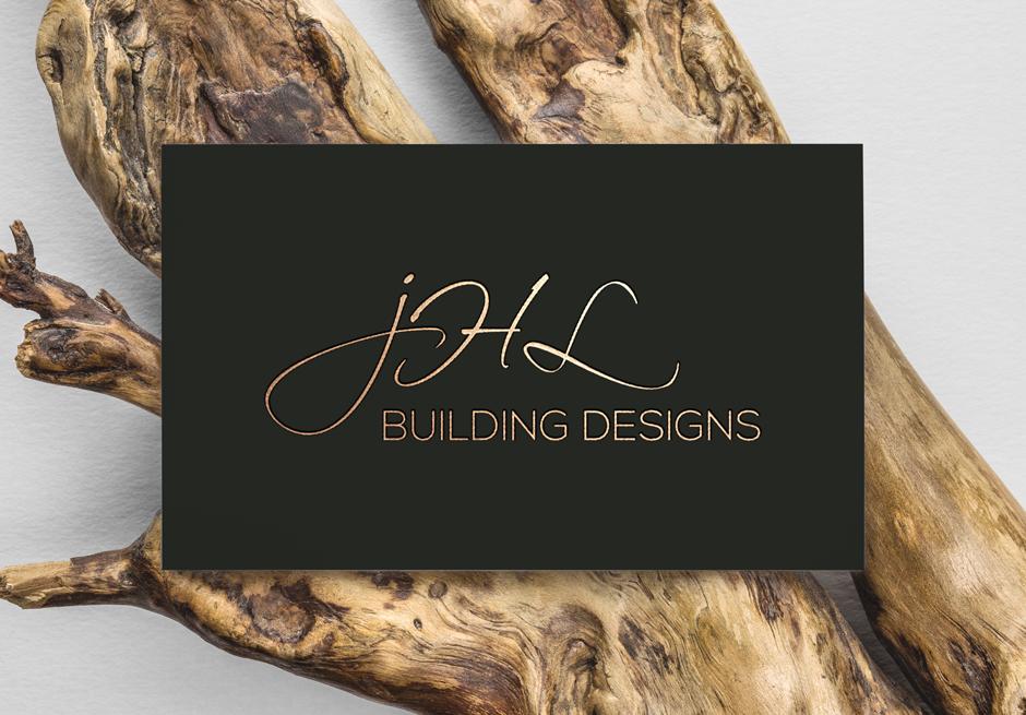Mudgee Builder Modern Business Card Design Front