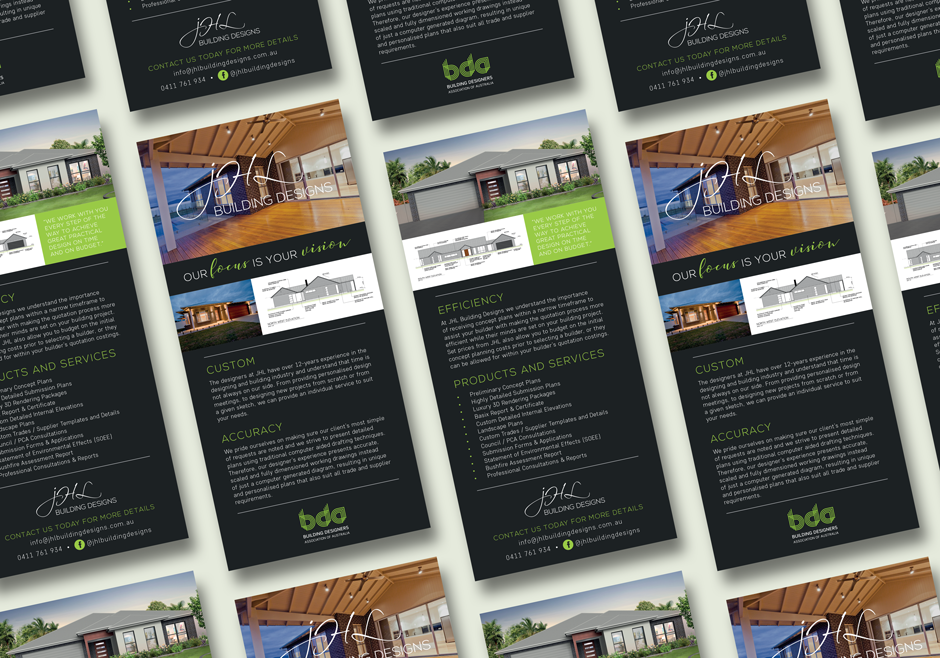 Mudgee Builder DL Flyer Design