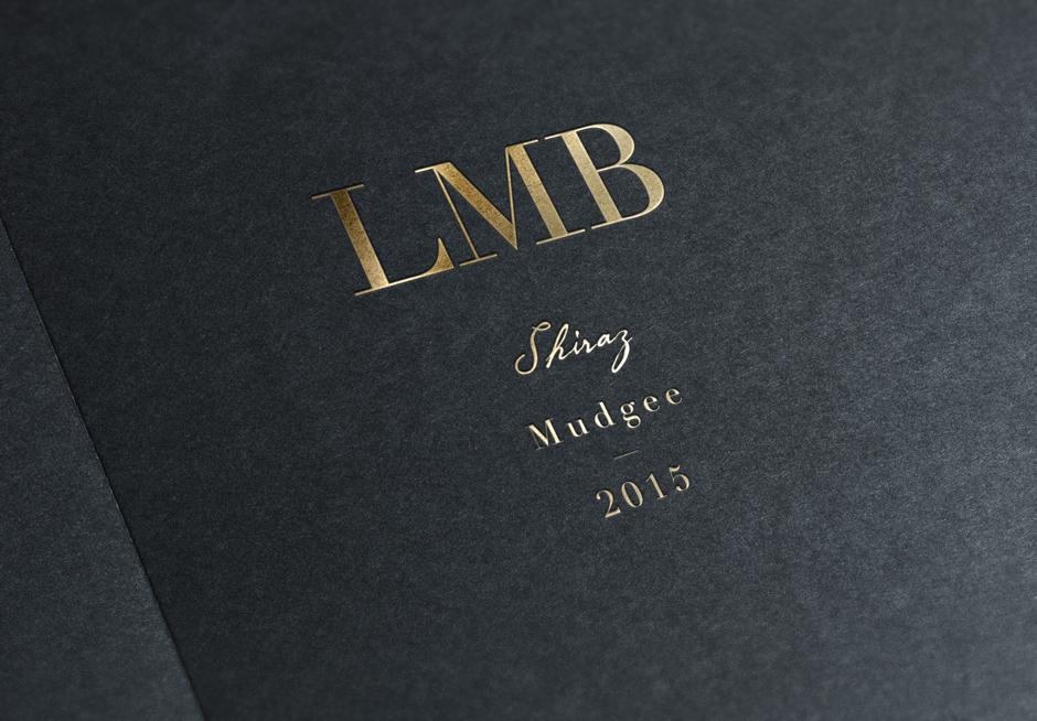LMB Wines Mudgee Logo Design Closeup