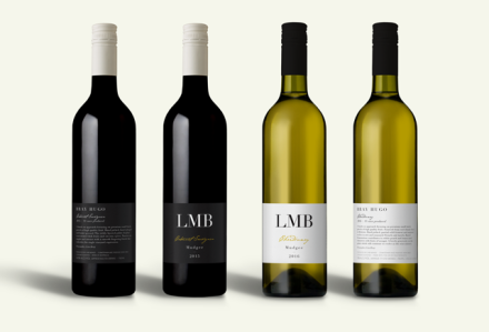 LMB Wines Mudgee Label Design Red and White Wine