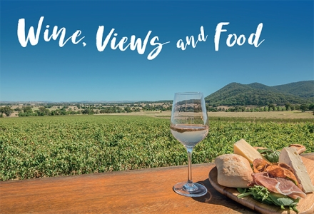Mudgee Winery Billboard Design