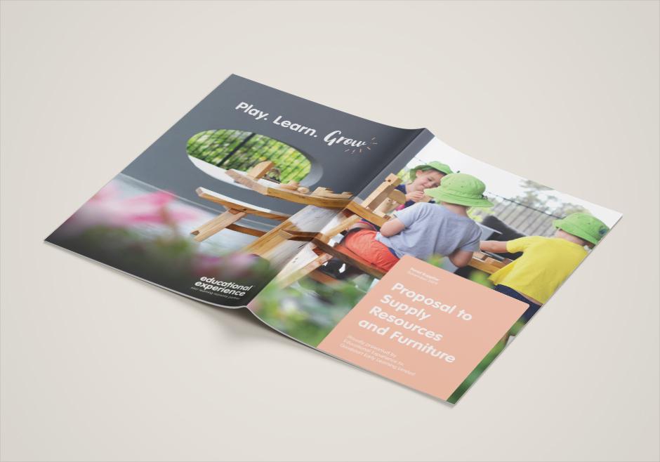 Tender Document Cover Design